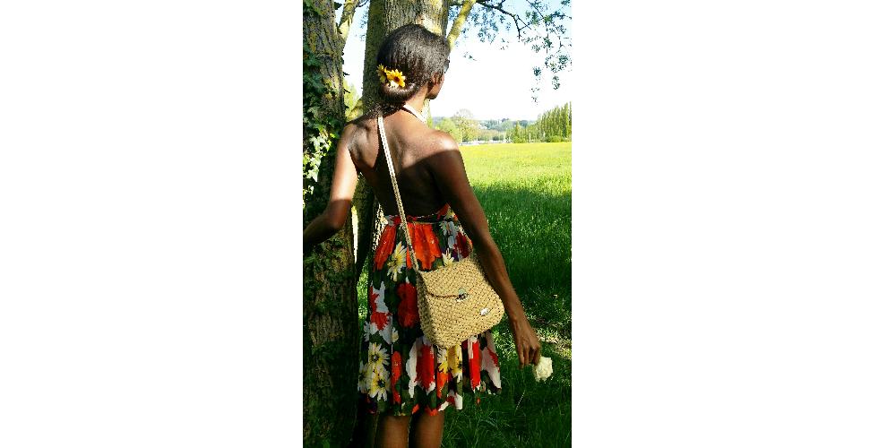 Flowers dress slider