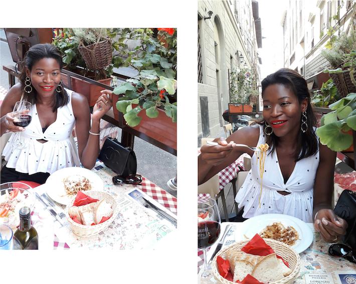 Pam_Tallfashionblog_zara_black_and_white_polka_dots_top_chanel_bag_dsquared2_cateye_sunglasses